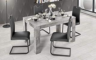 Amazon It Tavoli Da Pranzo Allungabili Casa E Cucina