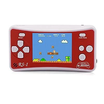 """E-WOR Console de Jeux vidéo Portable rétro 8 Bits avec 162 Jeux - Écran LCD de 2.5"""""""