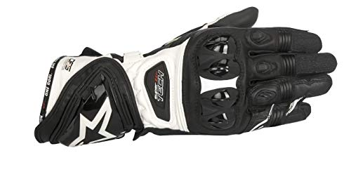 Alpinestars Handschuhe Supertech Gloves RACING, BLACK WHITE, XL