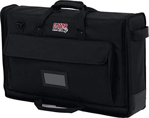 Gator G-LCD-TOTE-SM- Maletín de nailon acolchado para transportar pantallas LCD, monitores y televisores de 19-24 pulgadas