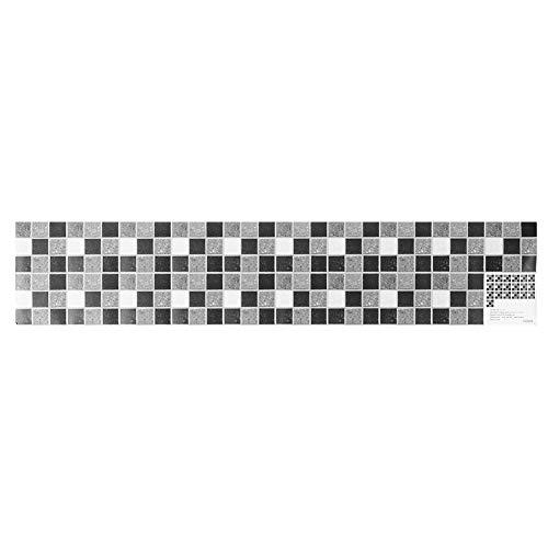 Fdit Papel Pintado Autoadhesivo de la Etiqueta engomada de la Pared del azulejo de cerámica del PVC para la decoración casera del Fondo de la Sala de Estar de la Cocina