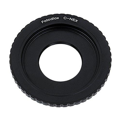 Fotodiox Anillo Adaptador para Lente de la cámara C-Mount de Sony Alpha Nex E