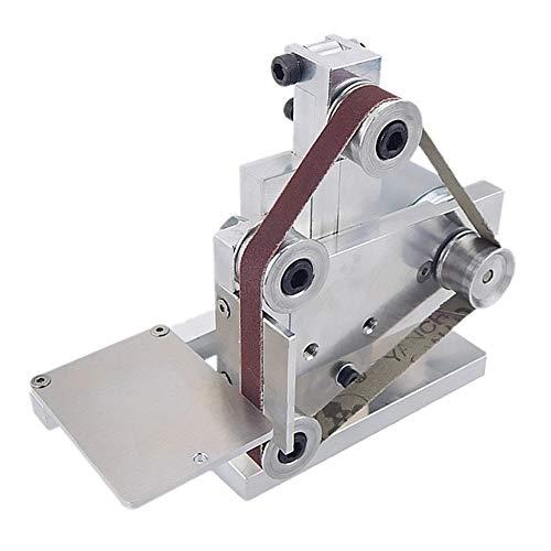 Teekit Miniamoladora de banda eléctrica multifunción, herramienta de pulido