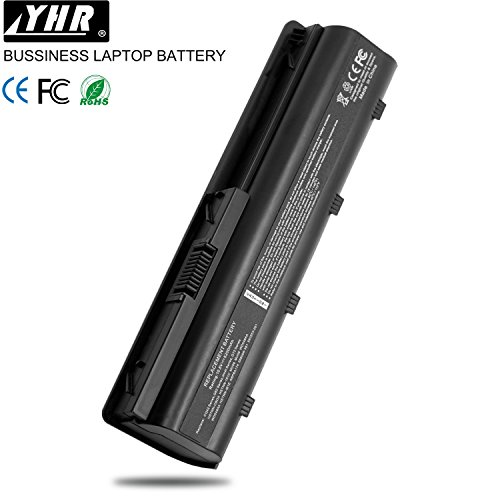 YHR HP 593553-001 Batterie pour Ordinateur Portable 593554-001 593562-001 MU06 MU09 Envy 17, Pavilion G6 G4 G7 DM4 DV7-4000, Compaq Presario CQ32 CQ43 CQ56 CQ58 CQ62 CQ72 (Garantie de 18 Mois)