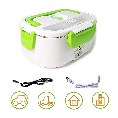 Sweet Home Bee Electric Lunch Box – high temperature resistant material, safe, portable, compact, lightweight, the ideal lunch box to enjoy hot meals anytime and anywhere