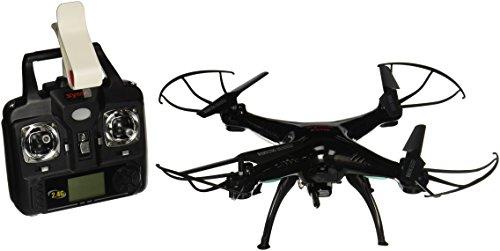 Syma X5SW Explorers2 2.4G 4CH 6-Axis Gyro RC Headless Quadcopter with 0.3MP Wifi Camera (FPV) BLACK