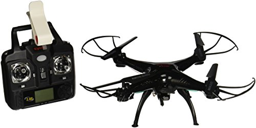 Syma X5SW Explorers2 2.4G 4CH 6-Axis Gyro RC Headless Quadcopter with 0.3MP Wifi Camera (FPV) BLACK