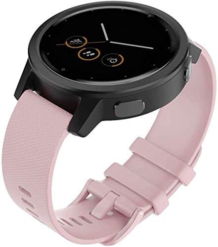 Shieranlee para Polar Ignite Correa, 20MM Correa de Repuesto de Silicona de para Huawei,Galaxy Watch (42mm), Gear Sport,Gear S2 Classic