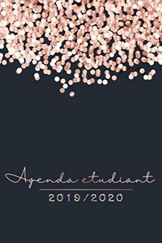 Agenda Etudiant 2019 - 2020: Agenda Semainier et Agenda Scolaire pour l'année Scolaire | De Août 2019 à Août 2020 - Cadeau Enfant et Étudiant