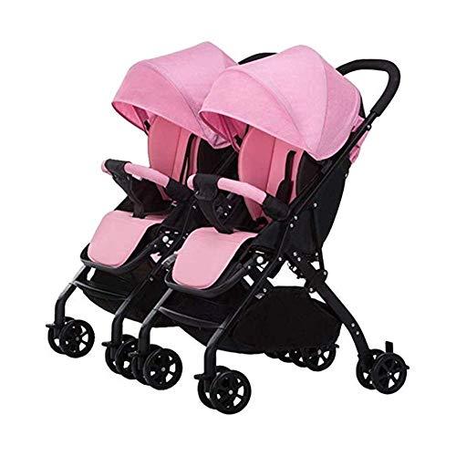 Sale!! Yankuoo Twin Stroller, Three-in-one Travel System, Split Ultralight Foldable/Four-Wheel Suspe...