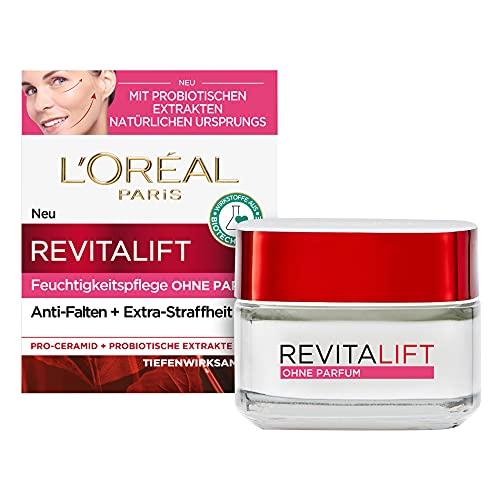L'Oréal Paris Tagespflege ohne Parfum, Anti-Aging Feuchtigkeitspflege für das Gesicht, Auch für...