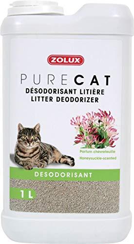 Zolux Désodorisant litière Pure Cat Parfum Lavande en 1 Litre