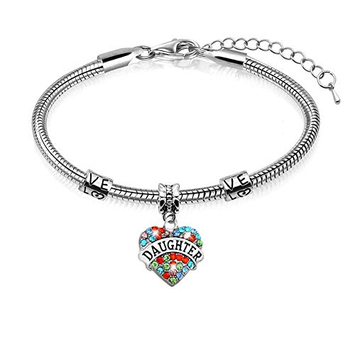 Cheaonglove Mum Bangle Mother Daughter Bracelets Gift for Mum Mum Gifts from Daughter Gifts for Mum On Her Birthday Baby to Mummy Presents Daughter