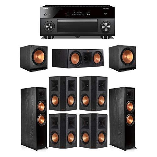 Buy Klipsch7.2.2 Ebony System - 2 RP-8060FA,1 RP-600C,4 RP-502S,2 SPL-150,1 RX-A3080 Receiver