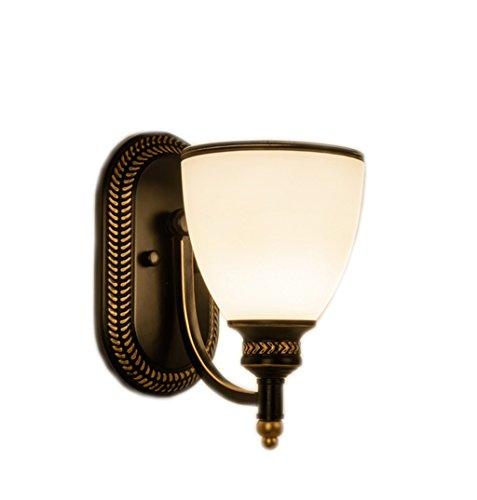 Lamp LU de Chevet de Chevet de Fer de télévision de Couloir (Couleur : A)