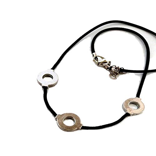 AZYVv Anime Naruto Akatsuki Uchiha Itachi Collar Accesorios Accesorios Collar Collar Clavícula Cadena Unisex