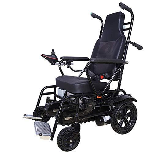 NMDD Elektrischer Treppensteiger Rollstuhl, zusammenklappbar, geeignet für ältere Menschen / Behinderte