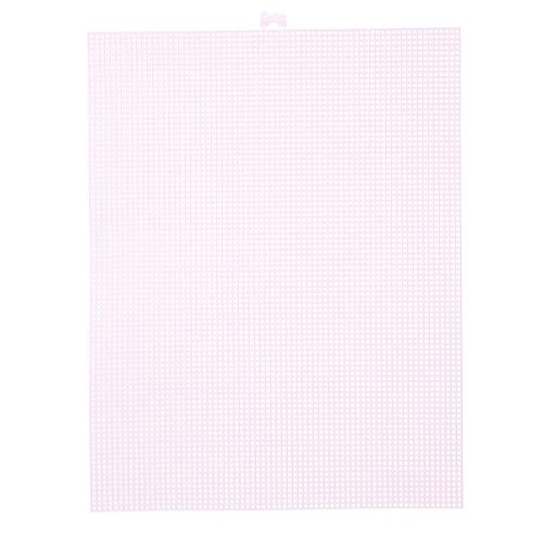 Darice Canvas, Lona de Plástico , Rosa, 34.3 x 26.7 cm