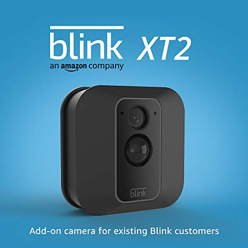Cámara de seguridad inteligente para exteriores / interiores Blink XT2 completamente nueva con almacenamiento en la nube incluido, audio bidireccional, duración de la batería de 2 años - Cámara adicional para clientes actuales de Blink