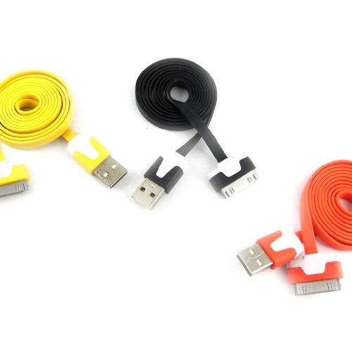 Les Trésors De Lily K9276-3 usb-kabel 'Coloriage' iphone ipad (schwarz, gelb, orange).