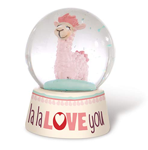 Nici LA- Lama Love Flamme Wasserkugel weiß rosa (42707)