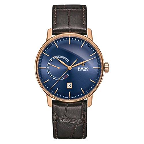 Rado uomo Coupole Classic 41mm marrone cinturino in pelle orologio...