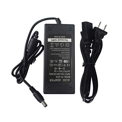 TIANLUAN CA Adaptador de Corriente DC Cargador para Zebra Eltron TLP2844 TLP LP 2844 2824 GC420...