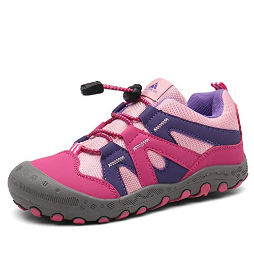 Mishansha Boys Girls Hiking Shoes Oxford Fabric Sneaker Outdoor...