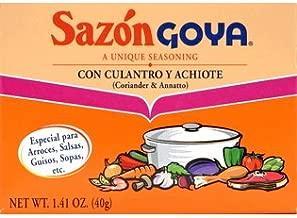 Sazon Goya Con Culantro Y Achiote 1.41 Oz (Pack of 6)