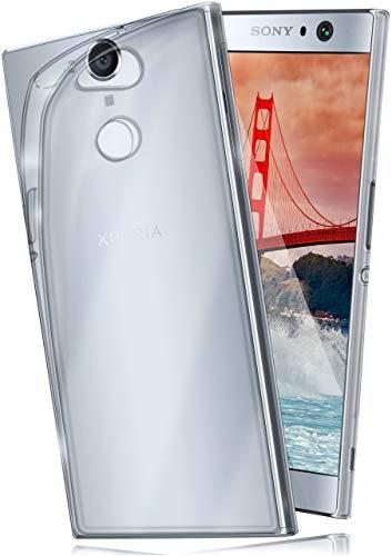 moex Aero Hülle kompatibel mit Sony Xperia XA2 Plus - Hülle aus Silikon, komplett transparent, Klarsicht Handy Schutzhülle Ultra dünn, Handyhülle durchsichtig einfarbig, Klar
