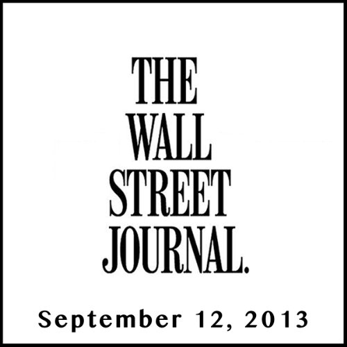 The Morning Read from The Wall Street Journal, September 12, 2013 copertina