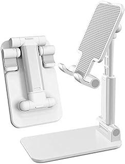 Nelikan Universal Multi Angle Rotatable Non Slip Cell Phone Holder Desktop Adjustable Stand Mobile Clipper Clamp Smart Tel...