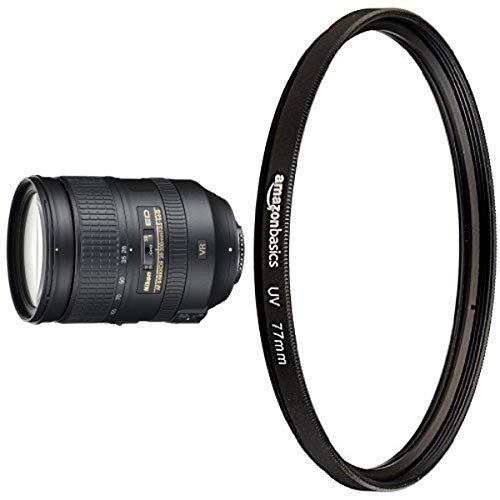 Nikon AF-S FX NIKKOR 28-300mm f/3.5-5.6G ED Vibration Reduction Zoom Lens with UV Protection Lens Filter