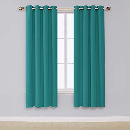 cortinas habitacion matrimonio turquesa