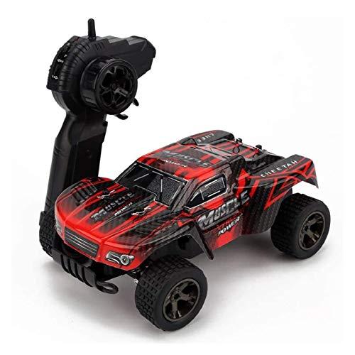YYQIANG 22 cm RC Cars 2.4 Ghz Radio Control Coche 20 km/h de alta velocidad Off-Road Control remoto Coche de carreras recargable RC Crawler Truck Coche de juguete para niño niño niño niños pasatiempos