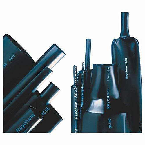 Schrumpfschlauch 16/5mm UV-beständig 1 Meter schwarz