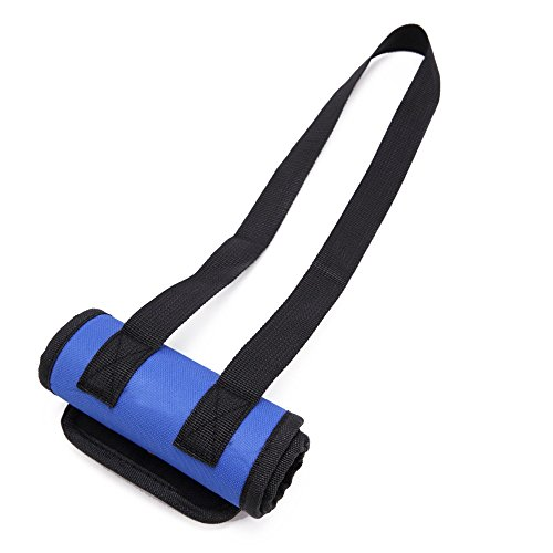ZAMAC - Cinturón de apoyo para levantamiento de mascotas para patas débiles delanteras o traseras, para caminar, entrar en coches, escaleras Mejor alternativa a silla de ruedas para perro (S-L)
