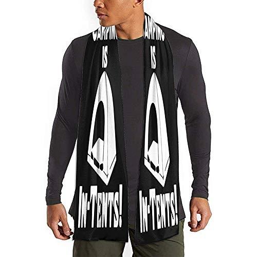 Regan Nehemiah Camping Is In-Tents Sjaal Zachte Lichtgewicht Lange Sjaals Thermische Antistatische Sjaal Premium Ademende Lange Sjaal Comfortabele Winter Sjaals