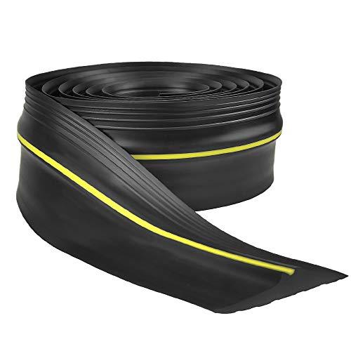 Garage Door Seal, Draught Excluder Bottom Rubber Seal 3m Universal Garage...