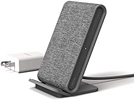 iOttie Ion Wireless Fast Charging Stand, Qi-Certified Charger 7.5W for IPhone XS Max R 8 Plus 10W for Samsung S9 Note 9,...