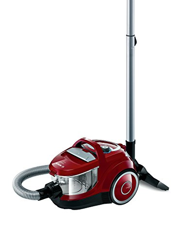 Bosch BGC2U230 Aspirador sin bolsa, 1600 W, 1.4 litros, 79 Decibelios, Rojo