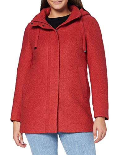 edc by Esprit 090cc1g309 Chaqueta, 630/Rojo, XL para Mujer