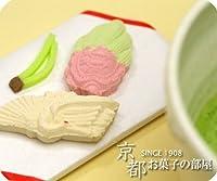 (結婚プチギフト ブライダル内祝いに) 縁起物 和三盆糖のお干菓子「鶴亀」 5個セット
