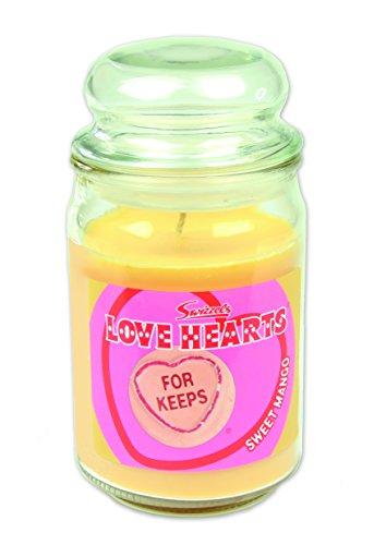 Swizzels Amour Hearts Bougie parfumée (453g) Sweet Mangue