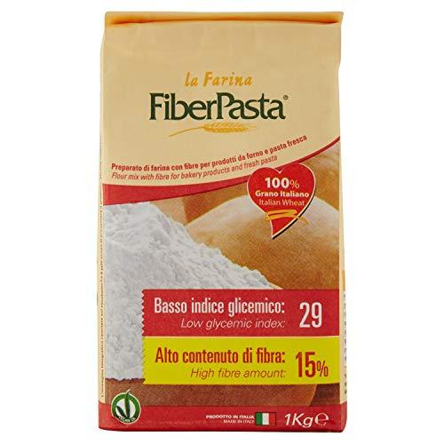 FiberPasta Farina a Basso Indice Glicemico - 1000 g