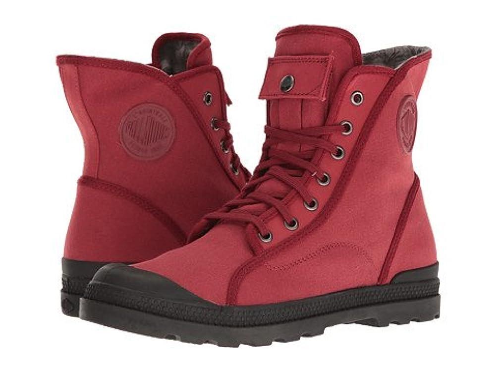 笑い波指導する(パラジウム)Palladium レディースブーツ?靴 Pampa M65 Hi LP Maroon/Black/Floral Lining 8 B:94cm, W:76cm, H:100cm M [並行輸入品]