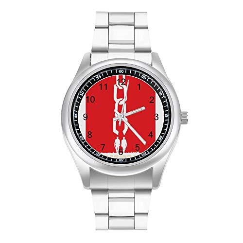 Django Unchained メンズ腕時計 クォーツ時計 ビジネス 多機能 ラグジュアリー スポーツ 学生用 ステンレス クォーツ クオーツク男性時計