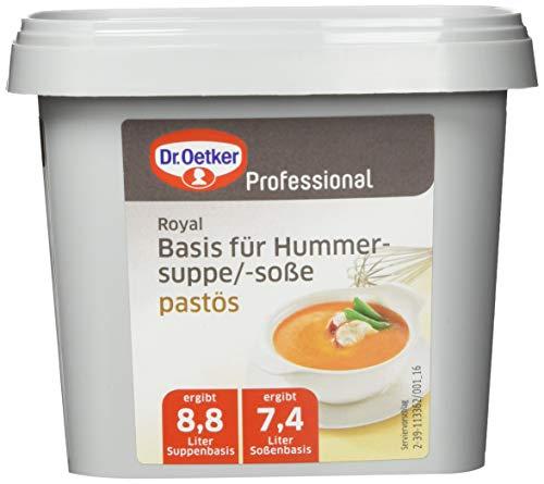 Dr. Oetker Professional Pastöse Basis für Hummersuppe/-soße, Paste in 850 g Dose