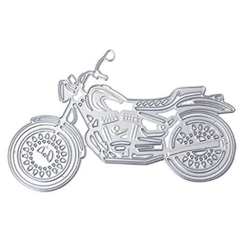 Hothap Kreative Motorrad Metall Stanzformen Schablone Papierkarte Sammelalbum Prägen DIY Handwerk