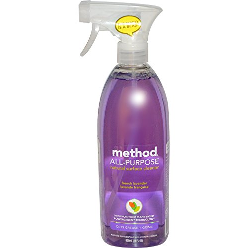 Method, All-Purpose Natural Surface Cleaner, French Lavender, 28 fl oz (828 ml) - 2pc